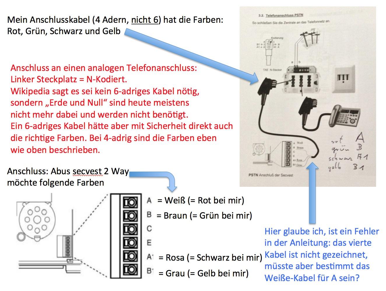 Beste 6 Adriges Kabel Galerie - Der Schaltplan - greigo.com